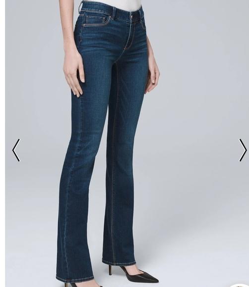 White House Black Market Denim - White House Black Market Contour  Blue Jeans NWOT